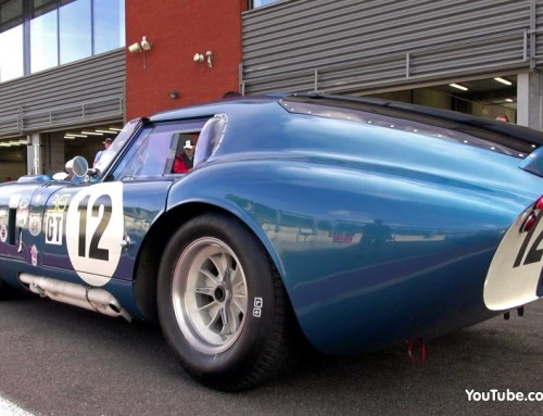 Shelby Daytona Cobra Coupe  in actie
