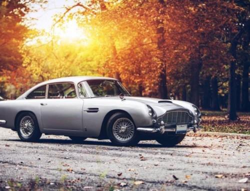 Aston Martin herbouwt Goldfinger D