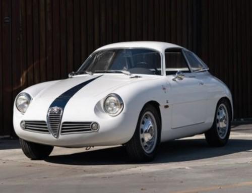 Alfa Romeo Giulietta SZ ontdekt in kelder