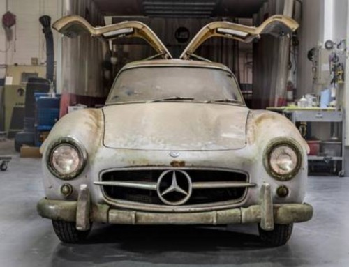 Schuurvondst Mercedes-Benz